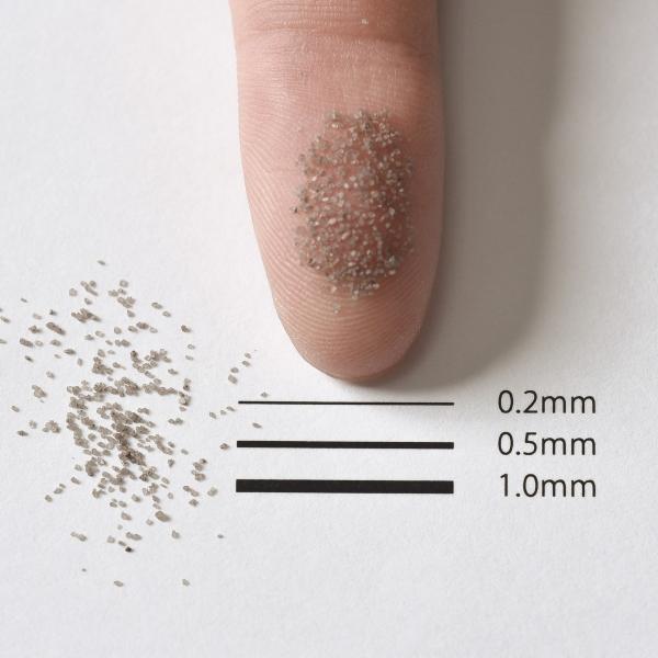 カラーサンド 日本製 デコレーションサンド 細粒(0.2mm位) Vタイプ ブラックチョコレート(06) 200g sunsins 02