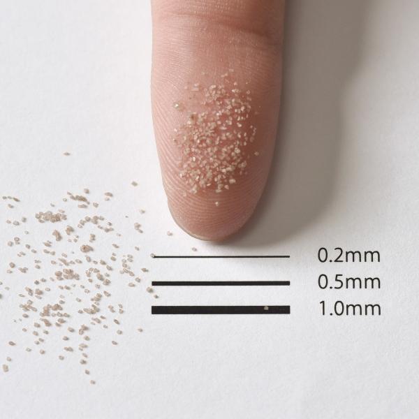 カラーサンド 日本製 デコレーションサンド 細粒(0.2mm位) Vタイプ チョコレート(08) 200g|sunsins|02