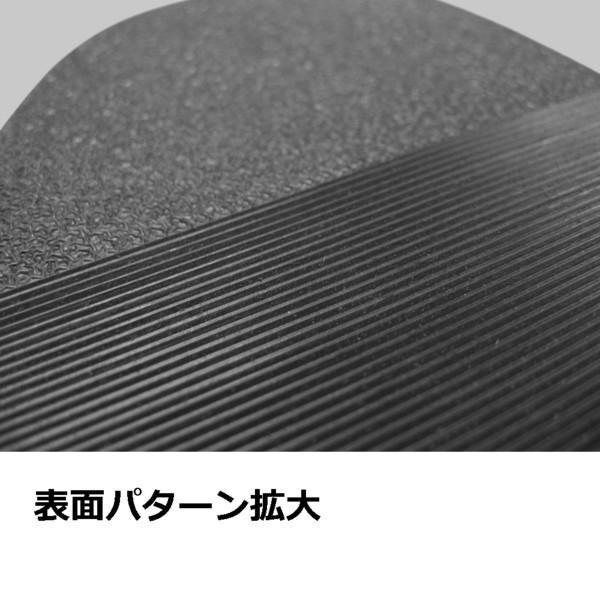 ≪ゆうメール便≫靴底修理パーツ ハーフソール 797ソール 黒 靴底補修用ゴムシート