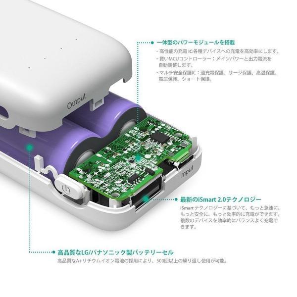 RAVPower 6700mAh モバイルバッテリー 急速充電 iPhone / Andorid 等対応 iSmart2.0機能搭載|sunvalley-brands-jp|09