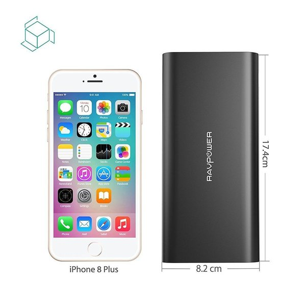 モバイルバッテリー RAVPower 26800mAh USB-C 急速充電 (デュアル入力、3台同時充電) iPhone / iPad / Android / 2015 MacBook 等対応|sunvalley-brands-jp|08