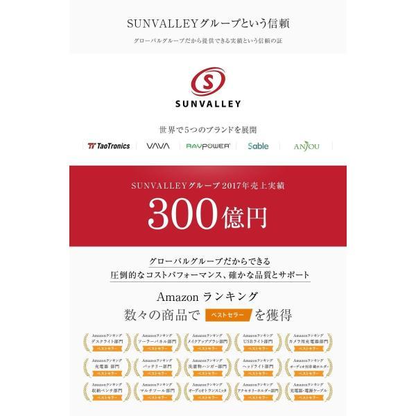 RAVPower ワイヤレス充電器 Qi 急速 Fast Charge 最大10W 2つのコイル ( iPhone X/8/8 Plus/Nexus/Galaxy 等対応)|sunvalley-brands-jp|02