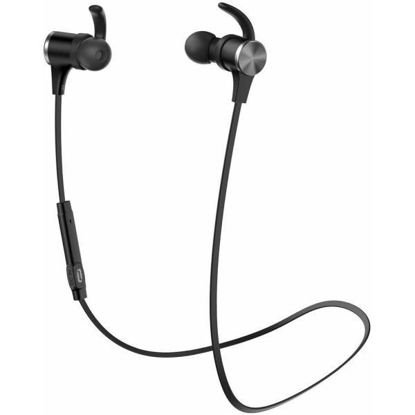 TaoTronics Bluetooth イヤホン(apt-X HD 18時間連続再生 IPX7防水仕樣) cVc8.0ノイズキャンセリング HIFI高音質 自動ペアリング SoundElite 71