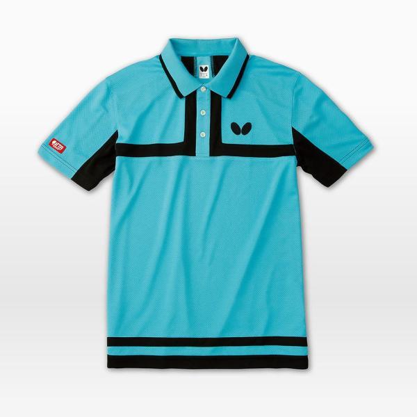 (限定特価) 卓球ユニフォーム バタフライ ポルティエ・シャツ 卓球ウェア ゲームシャツ 男女兼用 キッズサイズ対応 BUTTERFLY 45100|sunward|04
