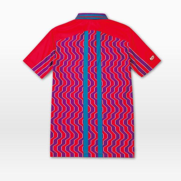 (限定特価) 卓球ユニフォーム バタフライ ファルサルト・シャツ 卓球ウェア ゲームシャツ 男女兼用 BUTTERFLY 45120|sunward|02