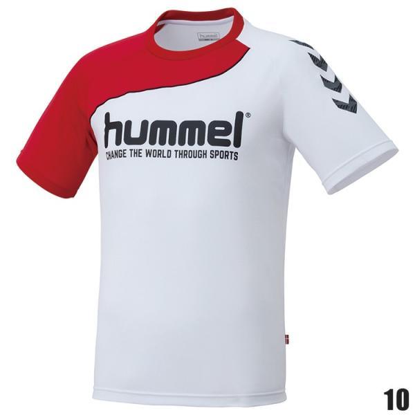 hummel ヒュンメル ハンドボールTシャツ HAP1142H 半袖シャツ|sunward|02