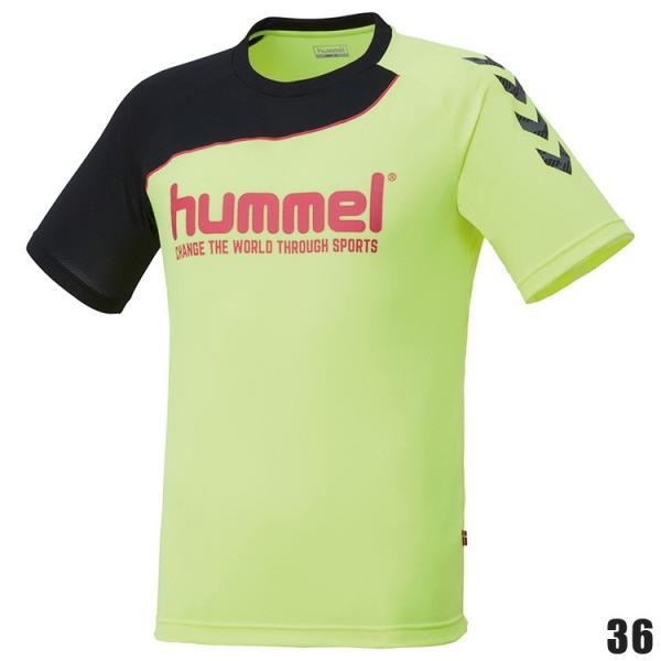 hummel ヒュンメル ハンドボールTシャツ HAP1142H 半袖シャツ|sunward|04