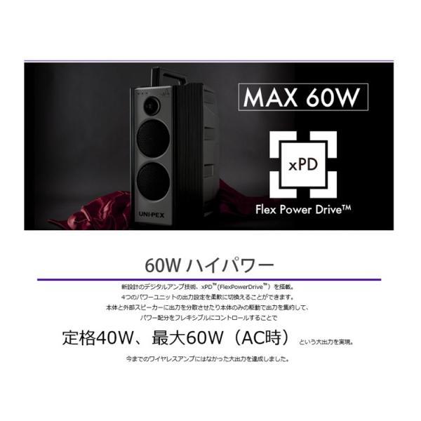 (ポイント10倍)ユニペックス WA-7 Aセット ダイバシティー防滴形ハイパワーワイヤレスアンプ CDプレーヤー(SD/USB)付ワイヤレスマイクセット WA-872CD WM-8400|sunward|05