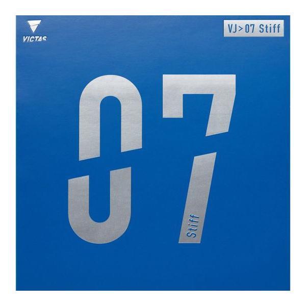 卓球ラバー VICTAS ヴィクタス VJ>07 Stiff スティフ 卓球 裏ソフトラバー 020731|sunward