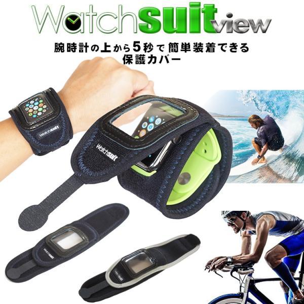 ウォッチスーツ ビュー 腕時計の保護カバー Watch suit view|sunward