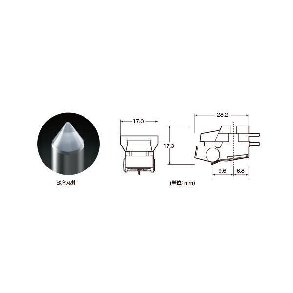 VM510CB audio−technica(オーディオテクニカ)pVM(MM)カートリッジ