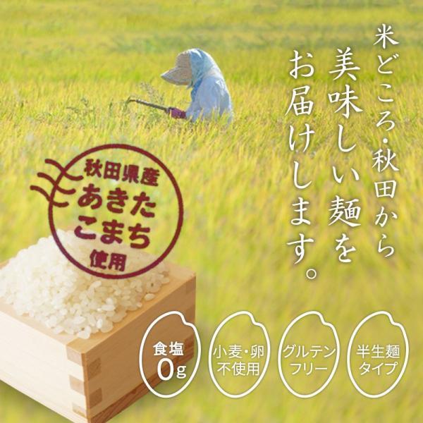 うどん グルテンフリー こまち麺 200g×4袋 米粉麺 米麺 あきたこまち 小麦アレルギー アレルギー対応 稲庭うどん 送料無料 super-foods-japan 04