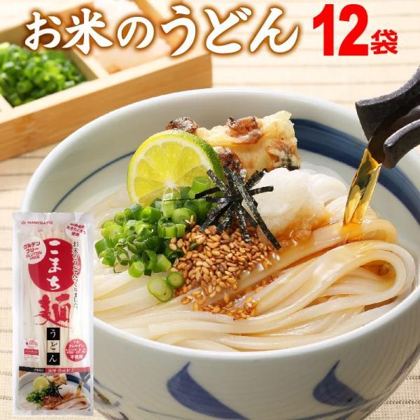 うどん 乾麺 グルテンフリー こまち麺 200g×12袋 送料無料 アレルギー対応 無塩 稲庭うどん