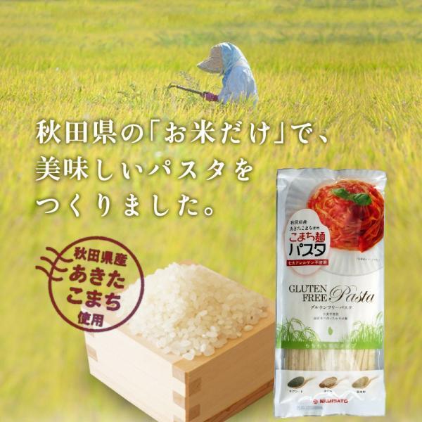 パスタ グルテンフリー こまち麺パスタ 250g×3袋 米粉麺 小麦アレルギー アレルギー対応|super-foods-japan|03