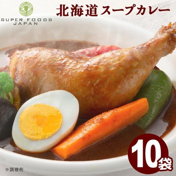 スープカレーレトルトカレー10食(300g×10袋)北海道からだ想いのスープカレーグルテンフリー
