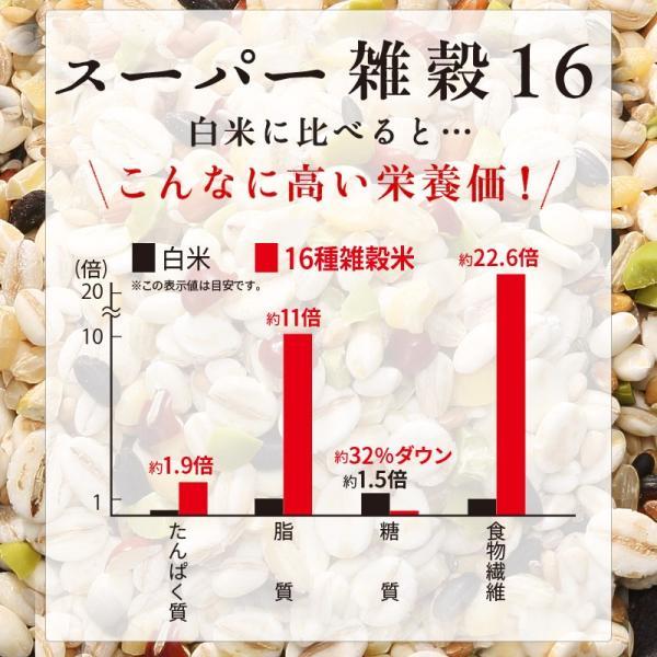 雑穀米 もち麦 16種雑穀米 500g 国産 発芽玄米 黒米 古代米 大麦β-グルカン|super-foods-japan|10