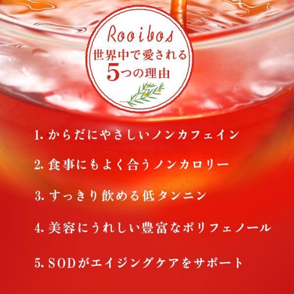 ルイボスティー オーガニック 水出し ティーバッグ プレミアムグレード 108包(54包×2袋)|super-foods-japan|06