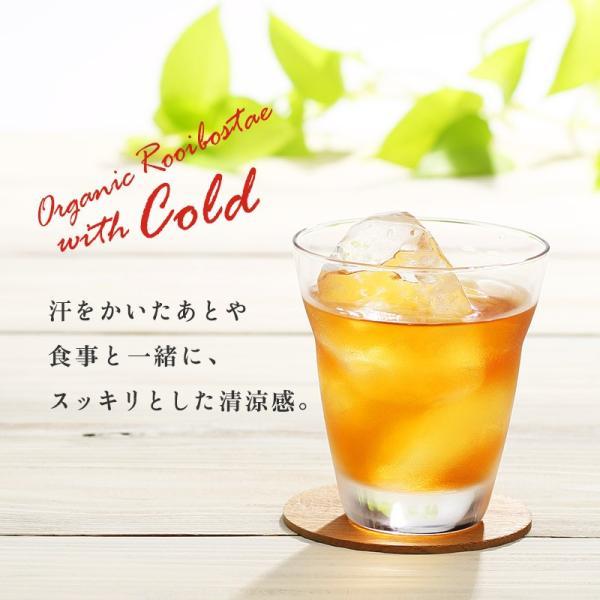 ルイボスティー オーガニック 水出し ティーバッグ プレミアムグレード 108包(54包×2袋)|super-foods-japan|09