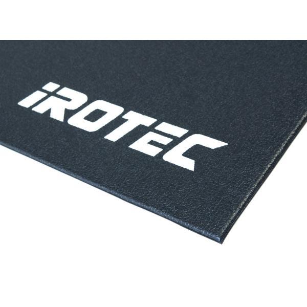 IROTEC(アイロテック)フィットネスマット/ランニングマシン ダンベル 筋トレ ベンチプレス フィットネス トレーニング ルームランナー スピンバイク|super-sports|02