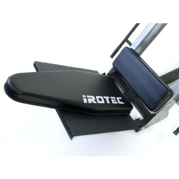 IROTEC(アイロテック) レッグプレスマシンLPM5-HPM/下半身 トレーニングマシン トレーニング器具 ホームジム 筋力トレーニング パワーラック|super-sports|04