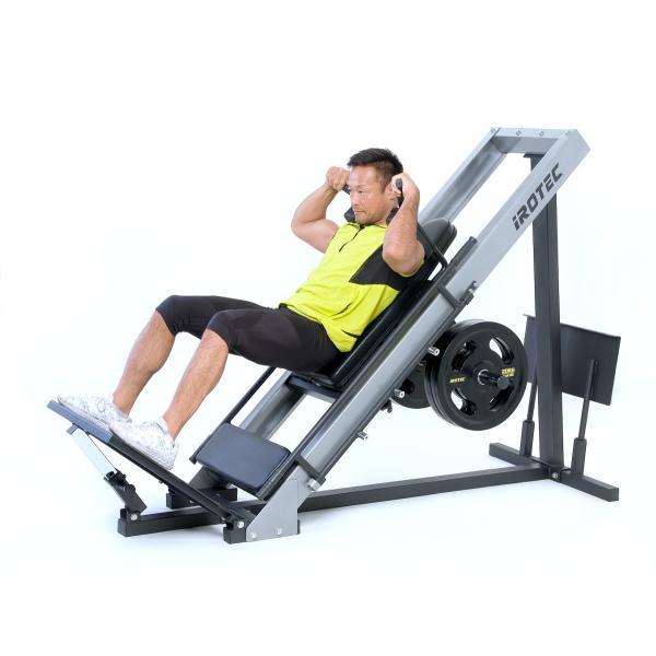 IROTEC(アイロテック) レッグプレスマシンLPM5-HPM/下半身 トレーニングマシン トレーニング器具 ホームジム 筋力トレーニング パワーラック|super-sports|06