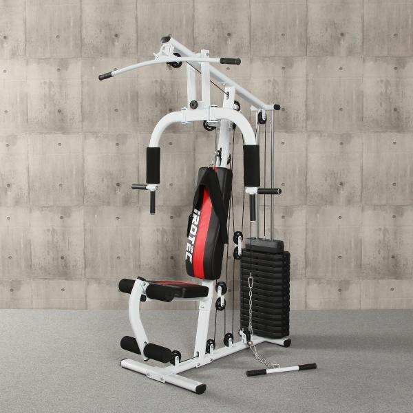 IROTEC(アイロテック)マルチホームジム150-V2/ホームジム マルチジム トレーニング器具 ベンチプレス トレーニングマシン 筋トレ器具|super-sports