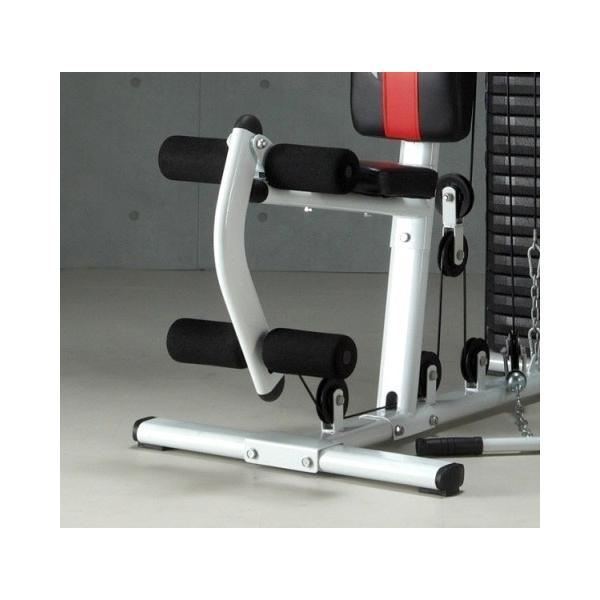 IROTEC(アイロテック)マルチホームジム150-V2/ホームジム マルチジム トレーニング器具 ベンチプレス トレーニングマシン 筋トレ器具|super-sports|05