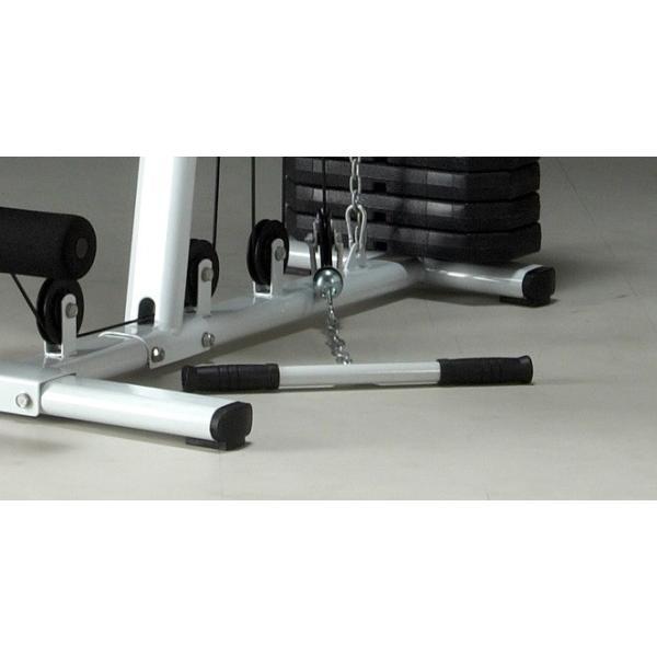 IROTEC(アイロテック)マルチホームジム150-V2/ホームジム マルチジム トレーニング器具 ベンチプレス トレーニングマシン 筋トレ器具|super-sports|06