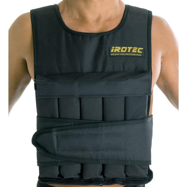 IROTEC(アイロテック)NEWアジャストパワーウエイトベスト20KG/筋トレ 体幹 懸垂 ダンベル スクワット 筋トレ器具 筋トレグッズ|super-sports