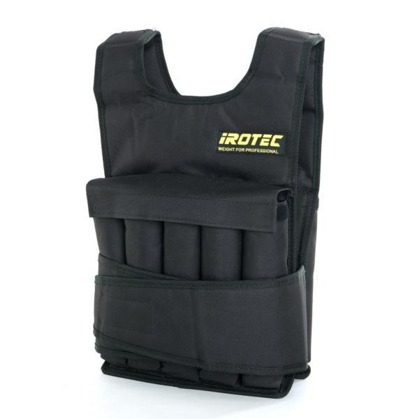 IROTEC(アイロテック)NEWアジャストパワーウエイトベスト20KG/筋トレ 体幹 懸垂 ダンベル スクワット 筋トレ器具 筋トレグッズ|super-sports|02