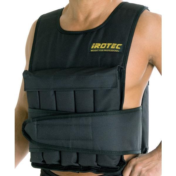 IROTEC(アイロテック)NEWアジャストパワーウエイトベスト20KG/筋トレ 体幹 懸垂 ダンベル スクワット 筋トレ器具 筋トレグッズ|super-sports|06