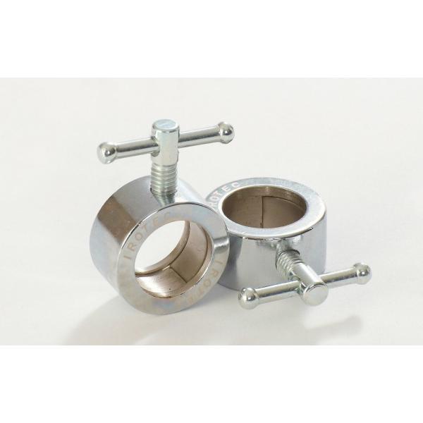 IROTEC(アイロテック)圧着式レギュラーカラー(28mm専用)2個セット/ ダンベル・バーベル・ベンチプレス・筋トレ・トレーニング器具|super-sports