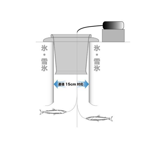 バリバス(公魚工房) VAAC-19 氷穴アダプター ブラック|superbush|03