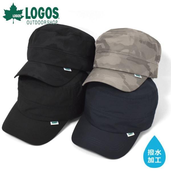 キャップ帽子レディースおしゃれ/LOGOSロゴス/撥水加工ワークキャップ
