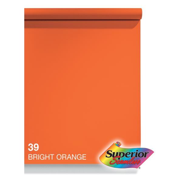 BPS-2711 スーペリア背景紙 2.72x11m #39ブライトオレンジ