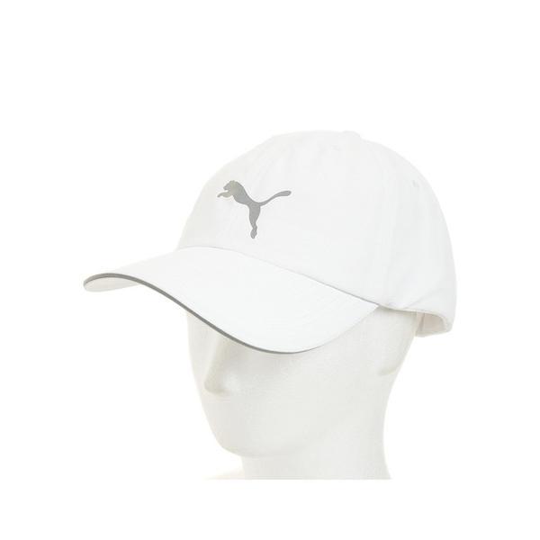 プーマ(PUMA) ランニングキャップ 052911 02 WHT オンライン価格 帽子 (メンズ)