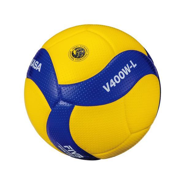ミカサ(MIKASA) バレーボール 4号軽量球 (小学校用) 検定球 V400W-L 自主練 (キッズ)