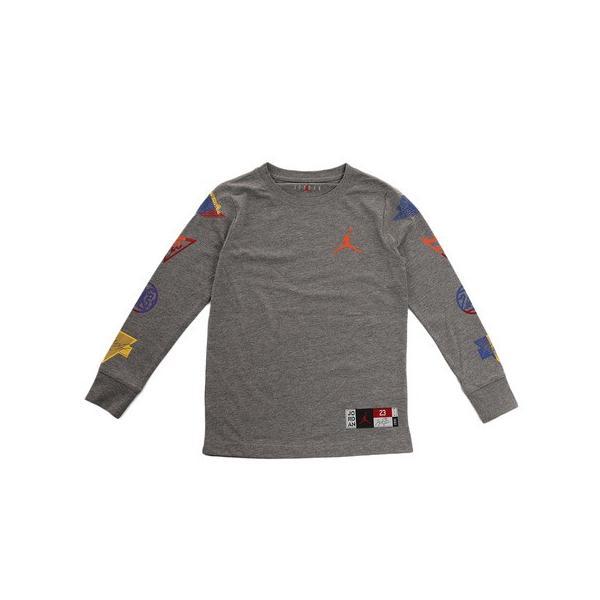 JORDAN 【オンライン限定特価】RIVALS PATCH 長袖Tシャツ 956258-GEH (Jr)