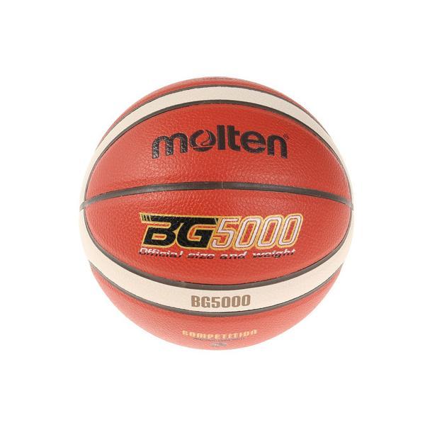 モルテン(molten) バスケットボール 5号球 (小学校用) 検定球 BG5000 B5G5000 自主練 (キッズ)