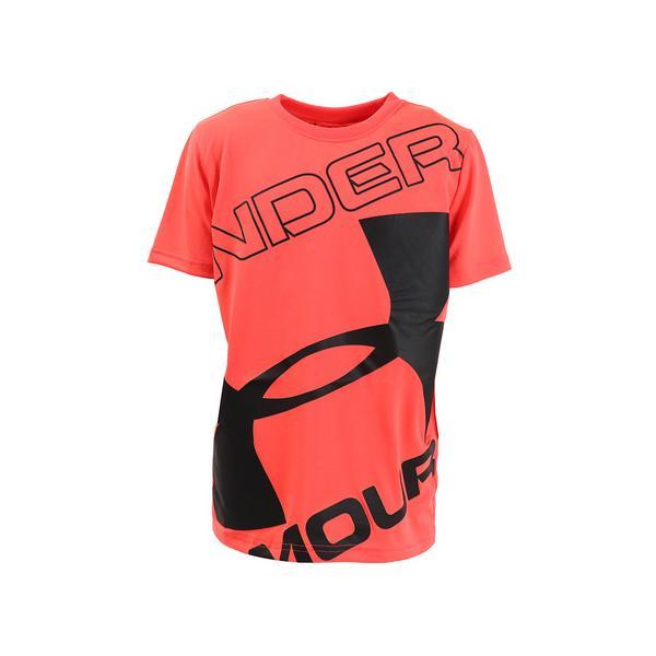 アンダーアーマー(UNDERARMOUR)Tシャツ半袖ジュニアテックブランドロゴショートスリーブ1353546BEA/BLKAT