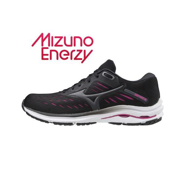 ミズノ(MIZUNO) ランニングシューズ ウェーブライダー WAVE RIDER 24 WIDE J1GD200610 ジョギングシューズ (レディース)