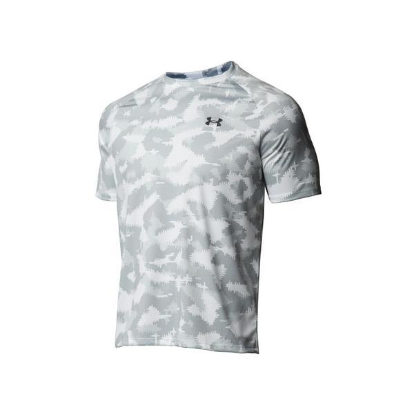アンダーアーマー(UNDERARMOUR)テック2.0カモ半袖Tシャツ1361464WHT/BLKAT(メンズ)