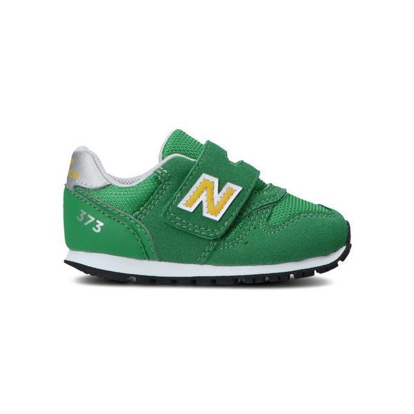 ニューバランス(newbalance)ジュニアスニーカーIZ373CV2Wグリーン緑ベビースポーツシューズ(キッズ)