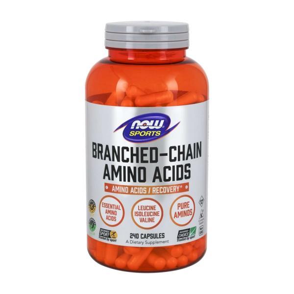 ナウスポーツ 分岐鎖アミノ酸 BCAA 240錠 NOW SPORTS NOW FOODS BRANCHED CHAIN AMINO ACIDS BCAA 240CAPS|supla