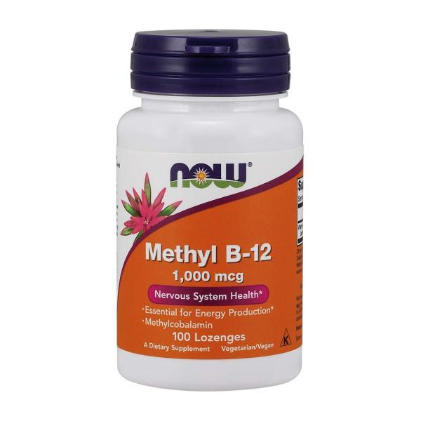 ナウフーズ メチルB-12 1,000mcg 100錠【NOW FOODS】Methyl B-12 1000mcg 100Lozenges|supla