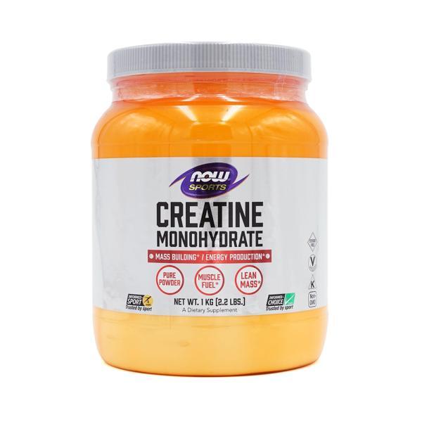 ナウスポーツ クレアチンモノハイドレートパウダー1kg NOW SPORTS CREATINE MONOHYDRATE 1kg|supla