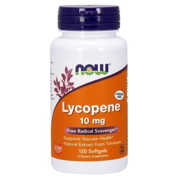 ナウフーズ リコピン 10mg 120ソフトジェル Now Foods Lycopene 10 120 Softgels|supla