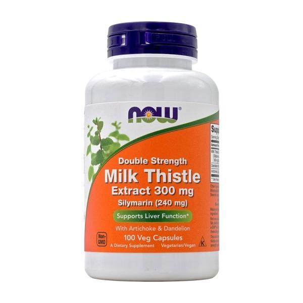 ナウフーズ シリマリン ミルクシスルエキストラ 300mg 100ベジカプセル Now Foods Silymarin Milk Thistle Extract 300 100 Veg Capsules|supla