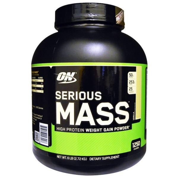 オプティマムニュートリション シリアス マス バニラ 2.72kg Optimum Nutrition Serious Mass Vanilla 2.72kg supla