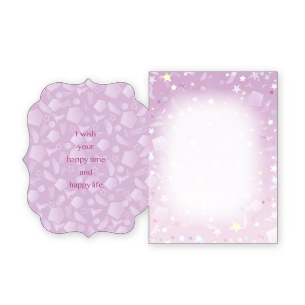 バースデーカード 星 グリーティングカード 誕生日 カード|suplea-store|02